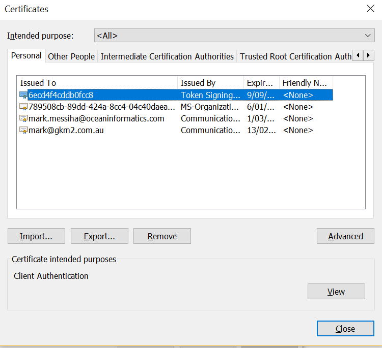 Installing The Nash Certificate For Chrome And Internet Explorer